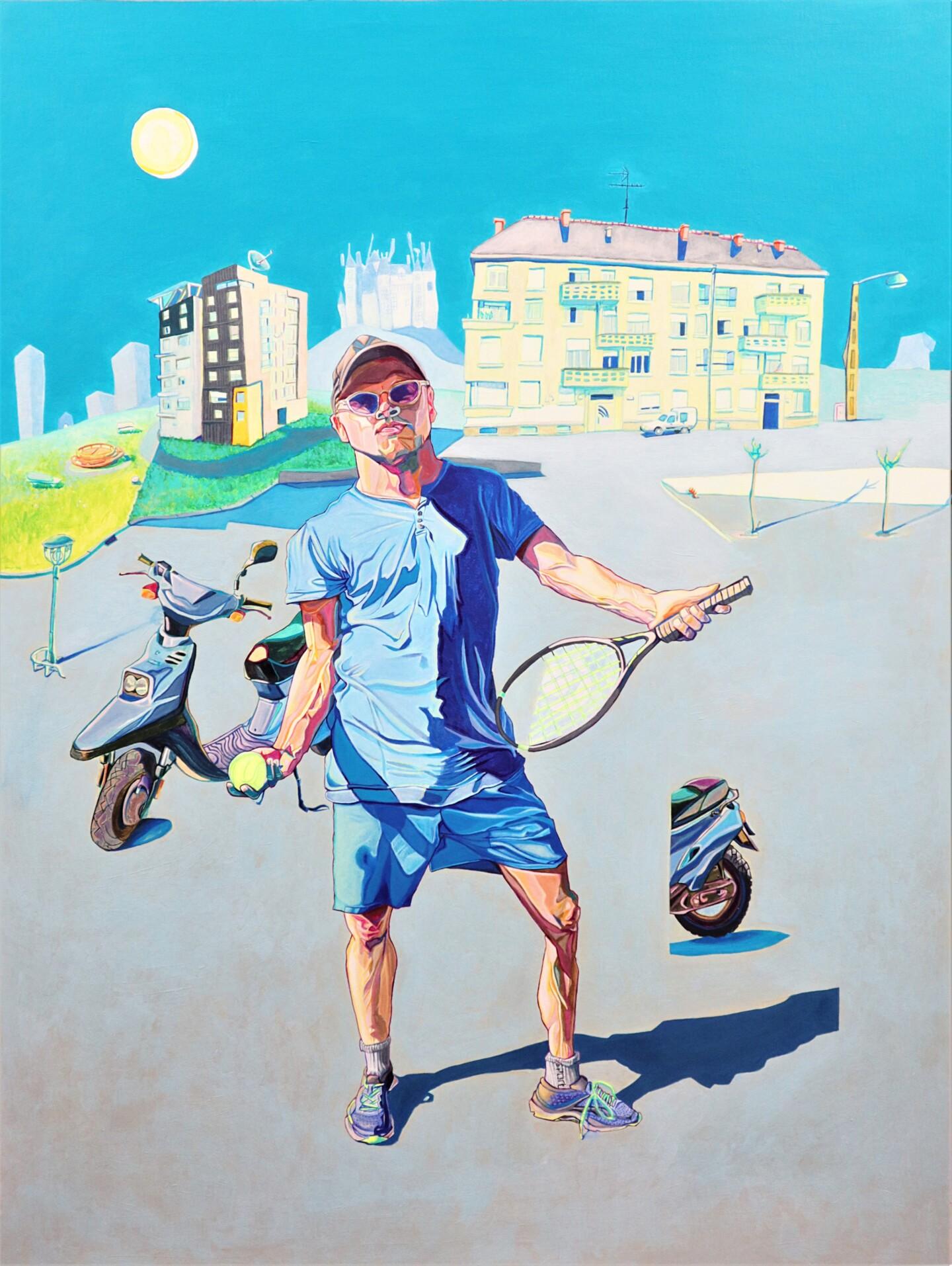 Julien Sama - le tennisman